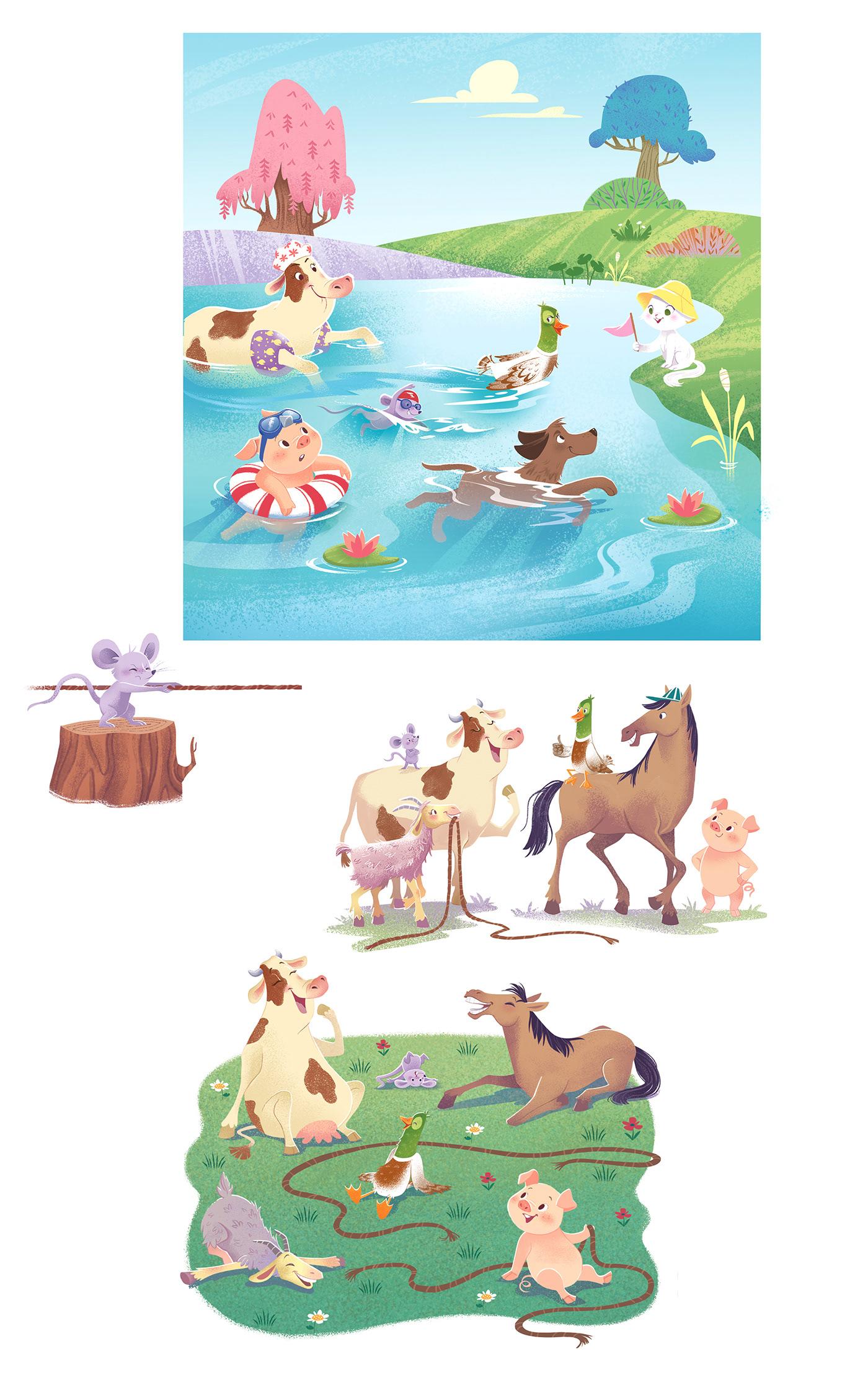 Image may contain: cartoon and animal