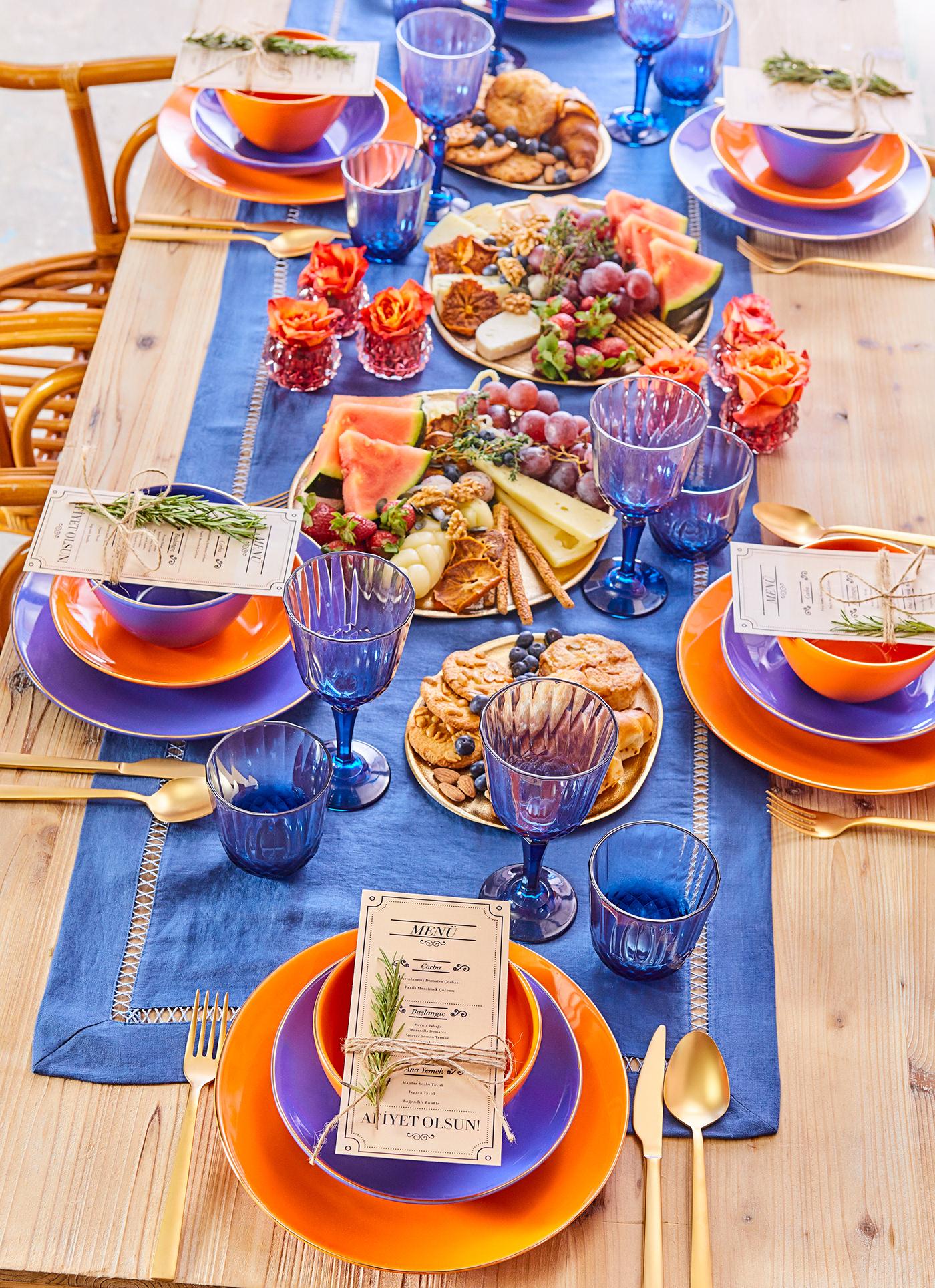 masa masa düzeni table yemek takımı