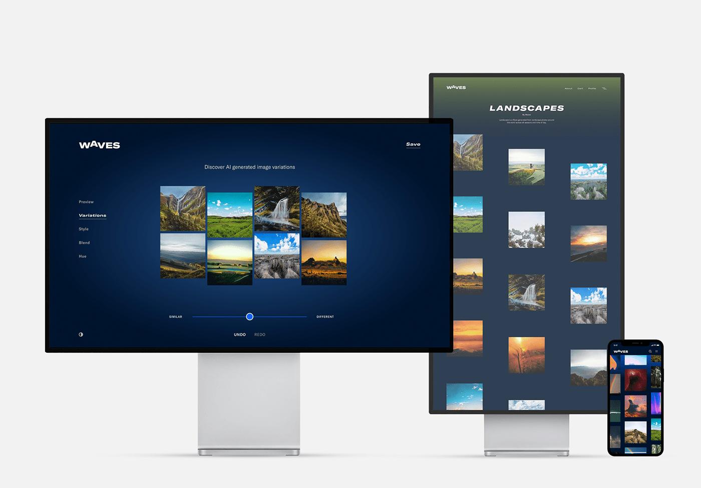 ai design machine learning new media Photography  stock photography UI ux Web
