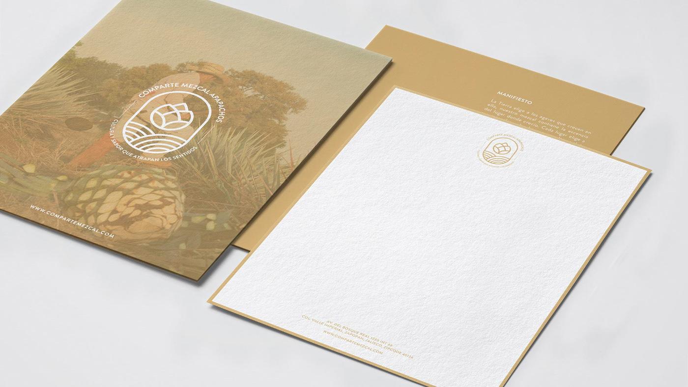 branddevelopment branding  foil GoldFoil Label mexico mezcal Packaging
