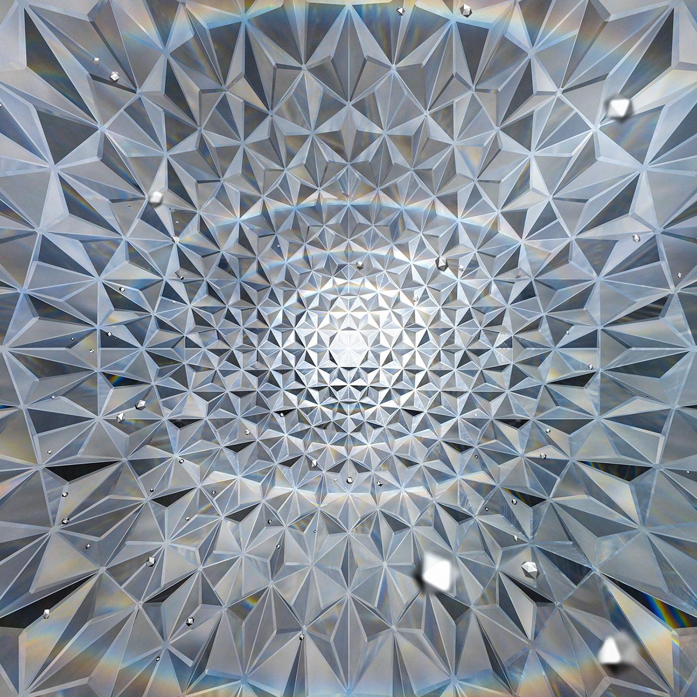 chakra agna Ajna geometry spirituality Mandala light eye pattern polygon