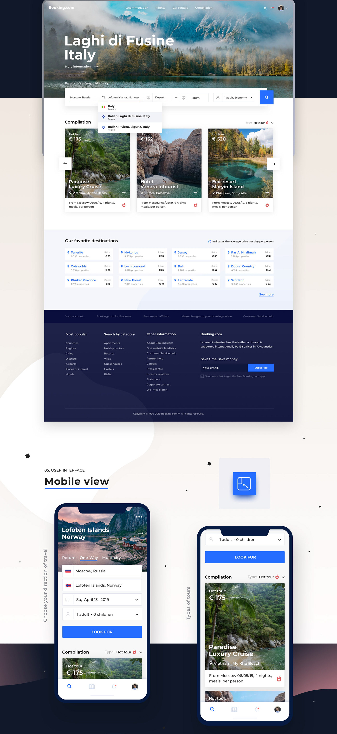 Booking Redesign Concept On Behance