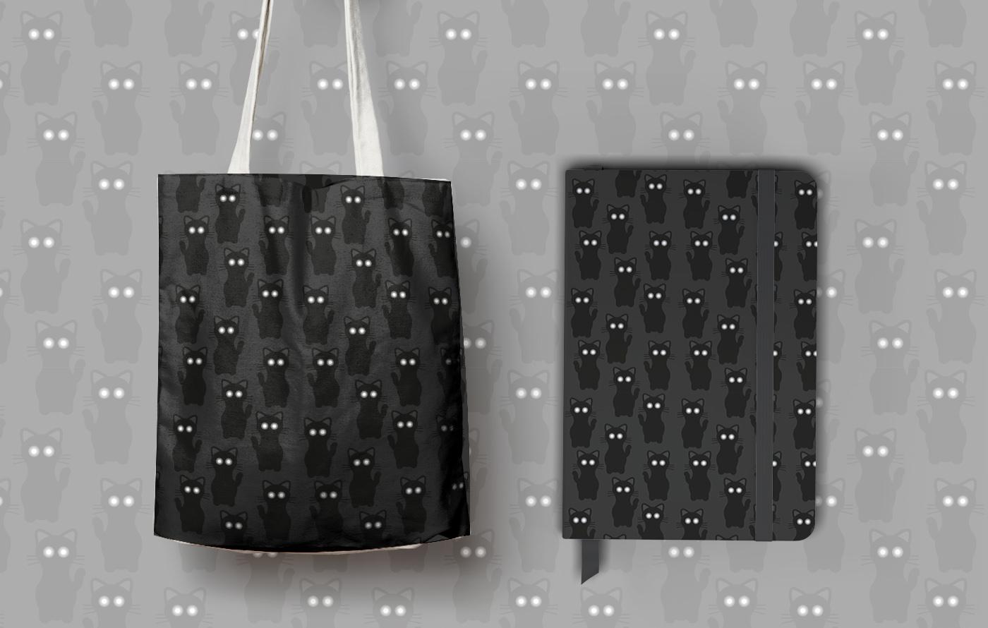 pattern design OscarEstMont ILLUSTRATION  free black White color blackandwhite