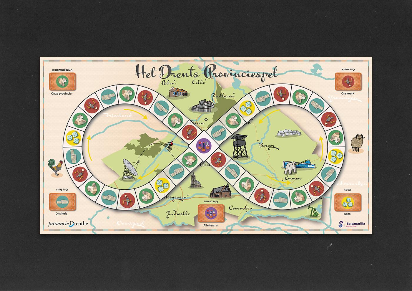 game board game design  graphic design  ILLUSTRATION
