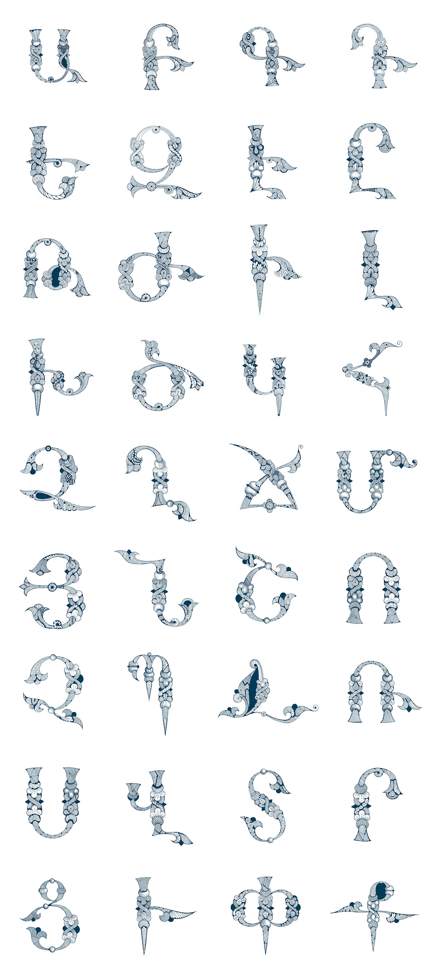 Armenian Alphabet On Behance