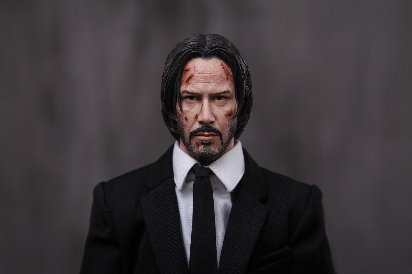 1 6 Keanu Reeves John Wick Chapter 2 On Behance