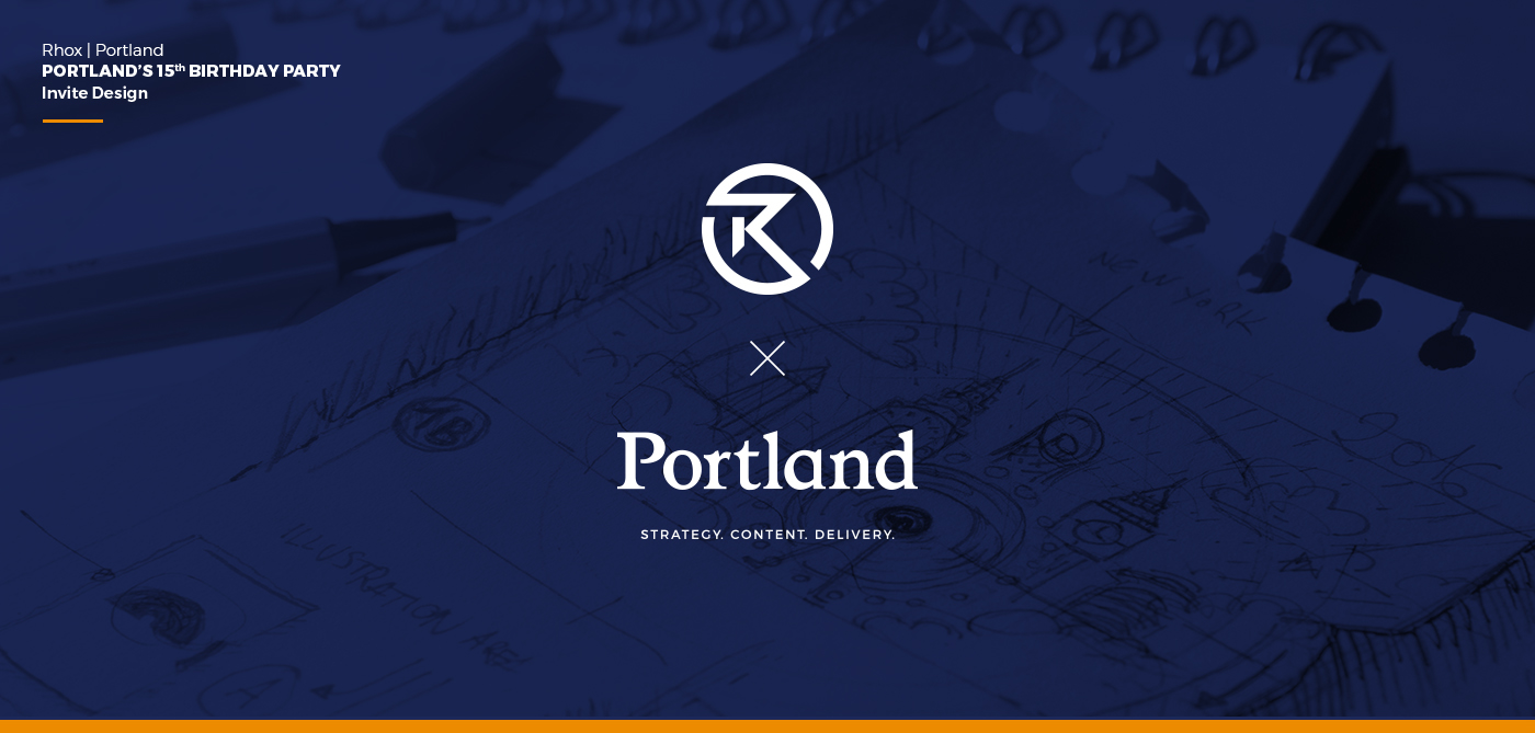 Portland\'s 15th Birthday Party | INVITE DESIGN on Behance