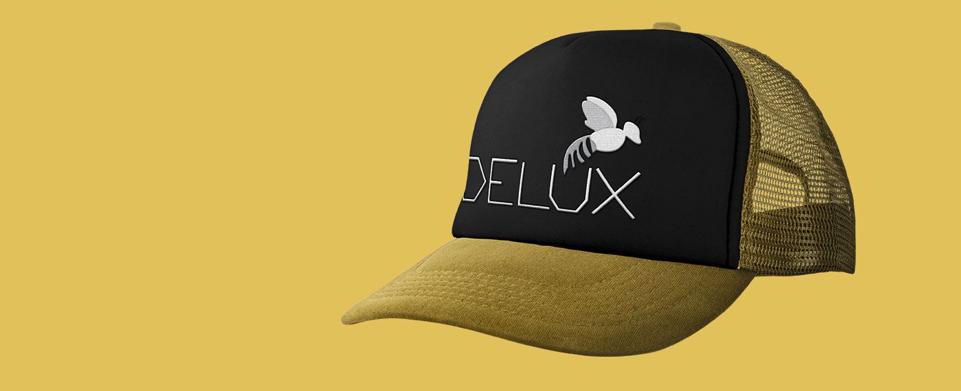 branding  delux miel Miellerie Delux