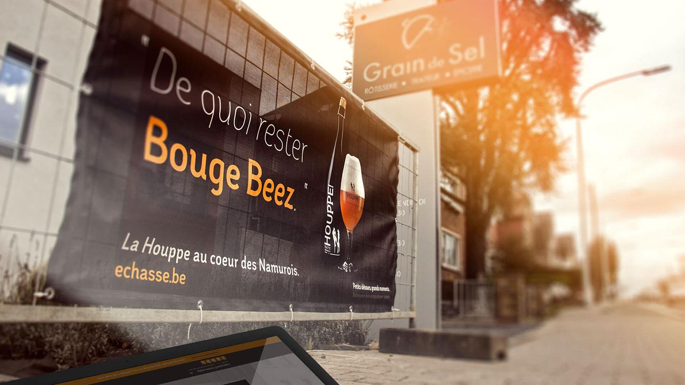 beer brewery Houppe bottle handmade shop bière échasseur