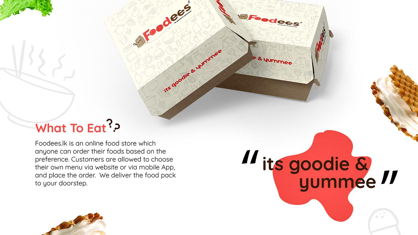 Foodees Brand Identity on Behance