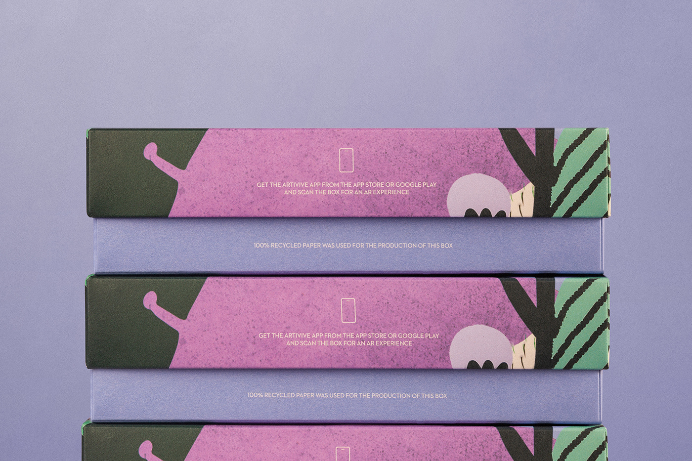 AR design gift Packaging premium print Printing skincare animation  Cosmetic
