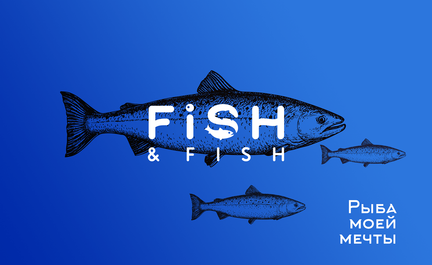 brand fish Fish & Fish logo Logotype