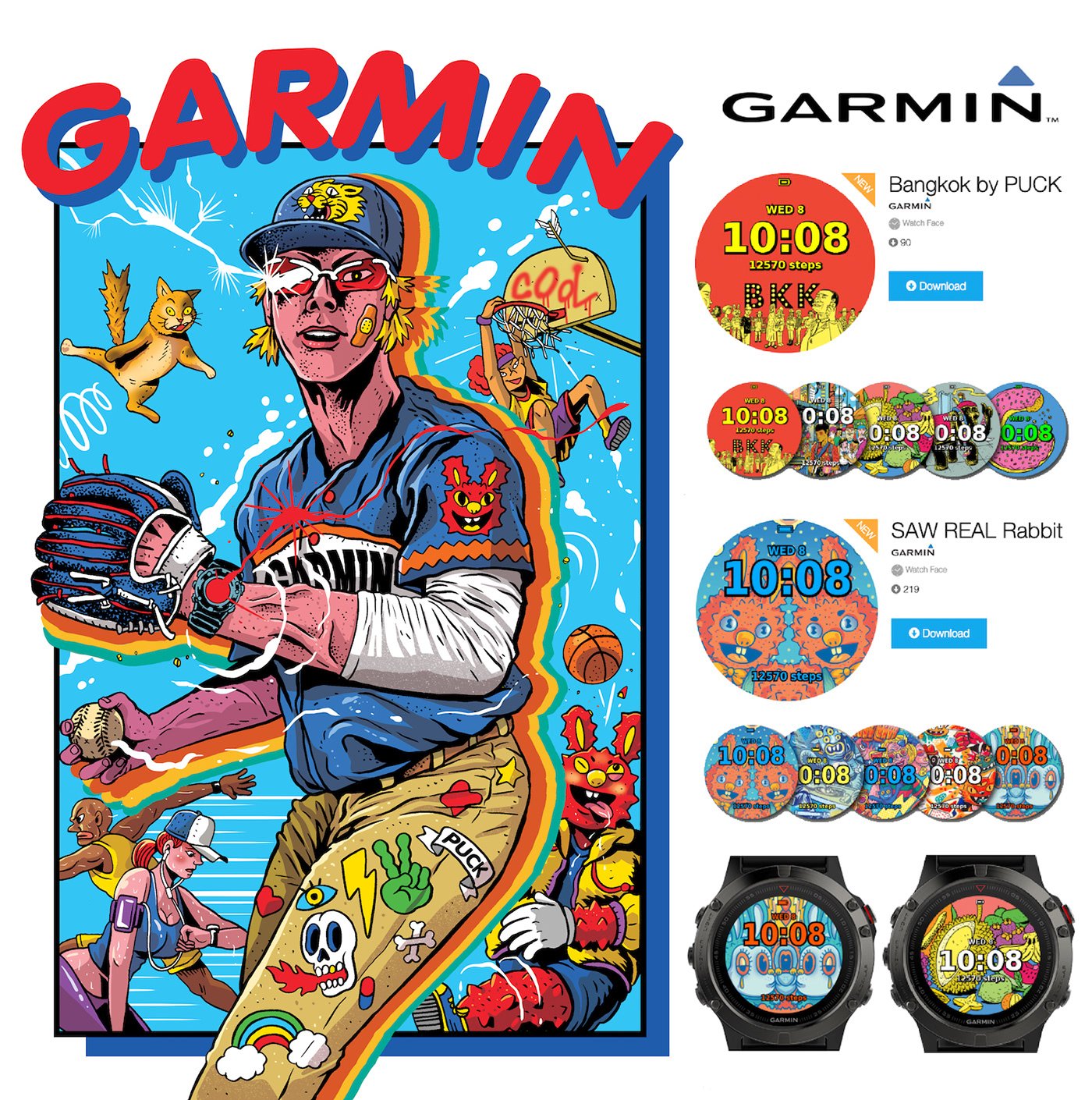 GARMIN (puck) on Behance