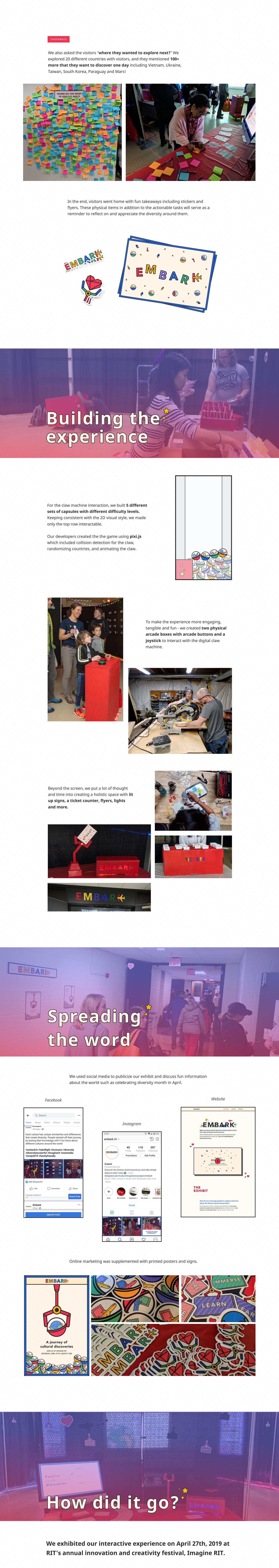 adobeawards,Diversity,Education,Motion Projection,EXHIBIT DESIGN,culture,claw machine,game,interactive exhibit,Captone