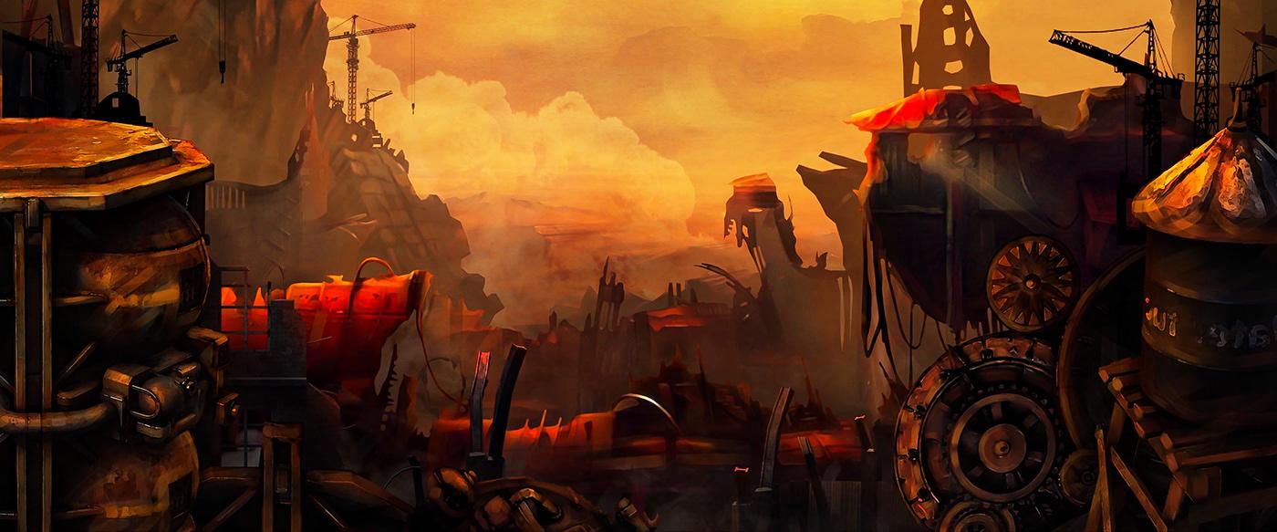 a short firm animated movie apocalypse concept art Digital Art  mam Phim hoạt hình thinhbrand think digital Jos