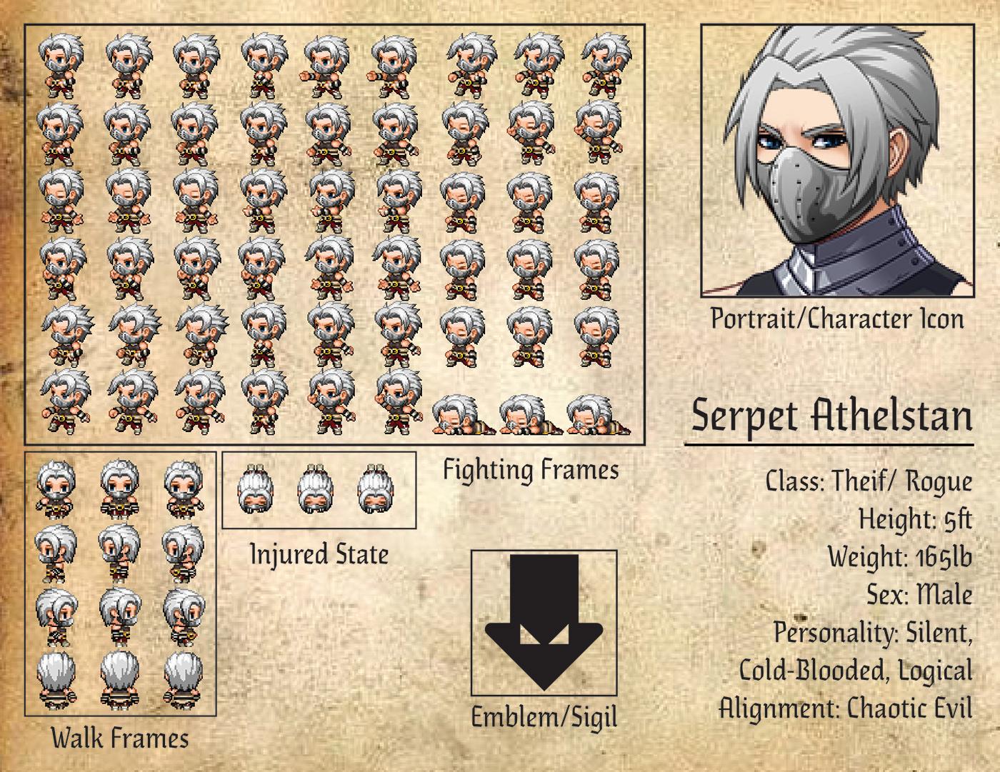 Game Sprite Series on Behance