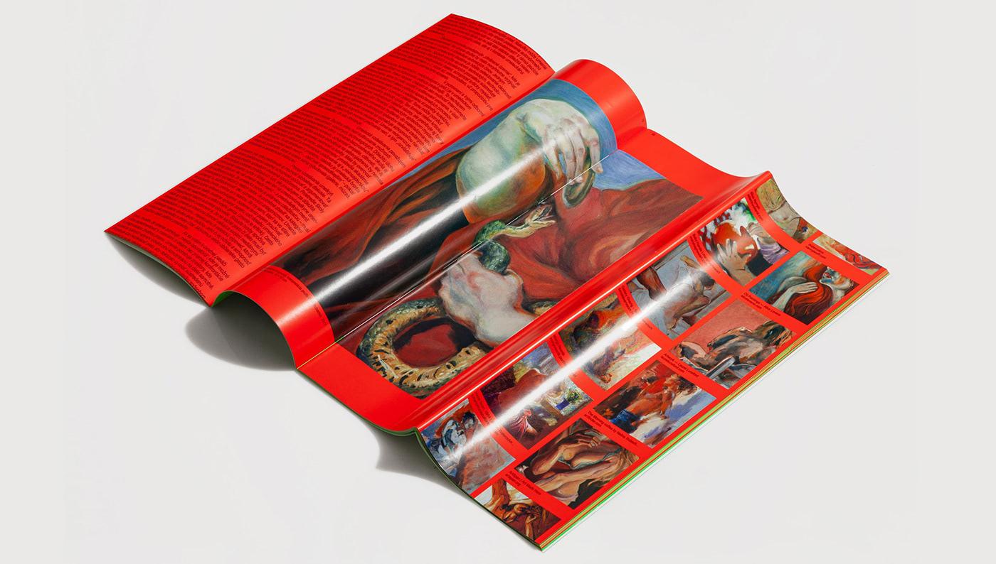book editorial design  Exhibition  millennials Catalogue deer poster RGB screenprint