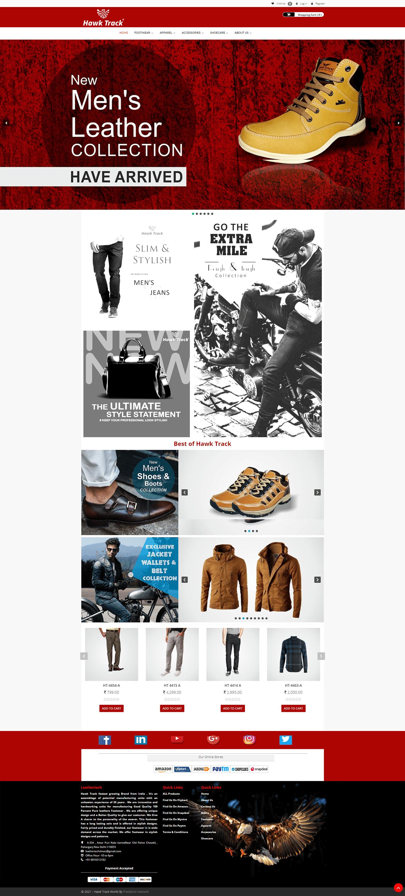 eCommerce design Shoe Startup startup design Website Design Woocommerce