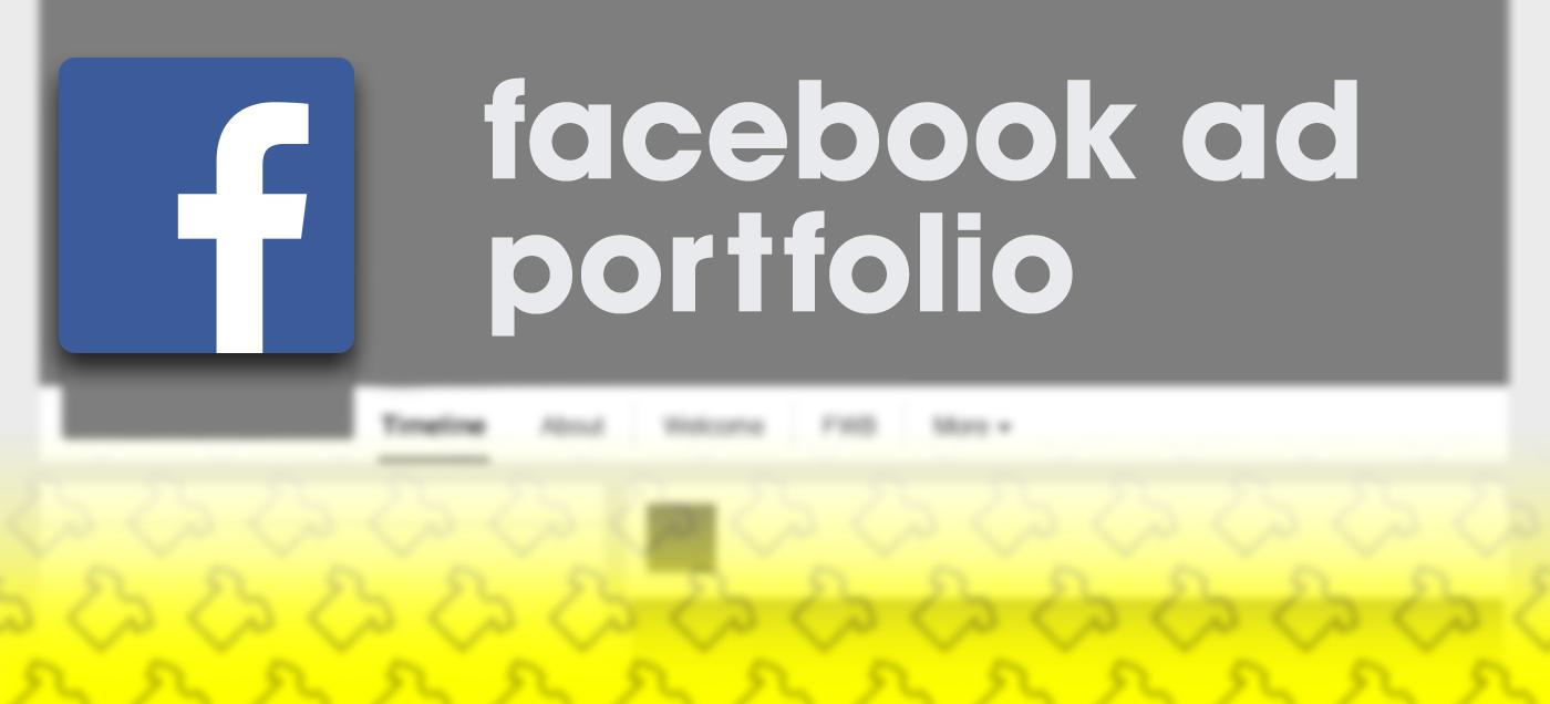 facebook ad ads design banners facebook banners creatives photoshop portfolio Advertising