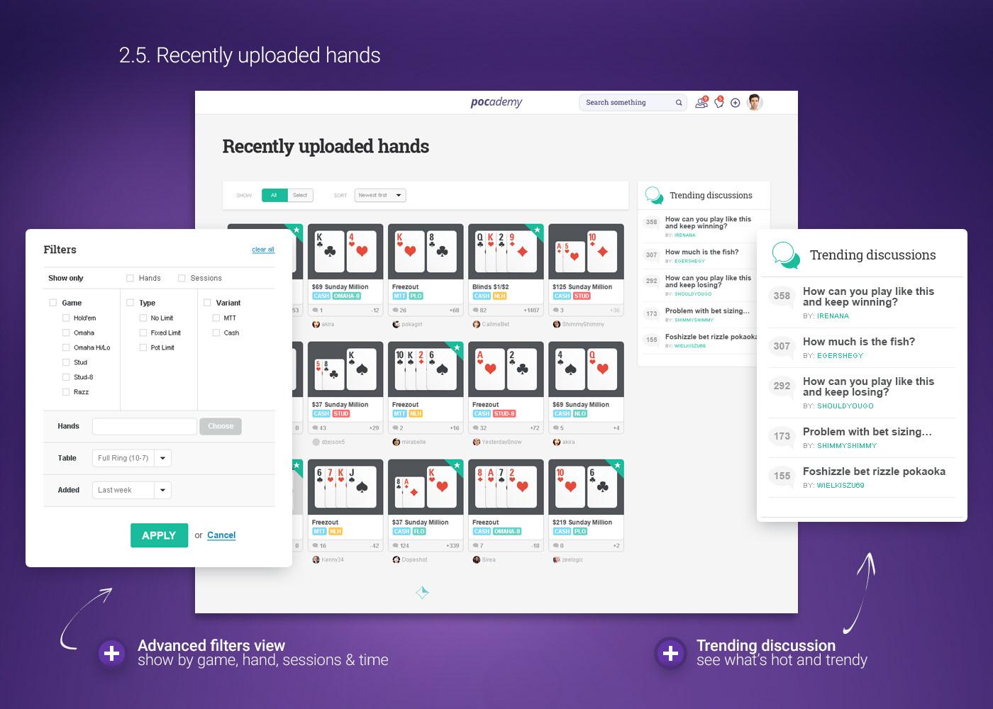 web application web app Poker Interface UI user interface web interface Startup www Website
