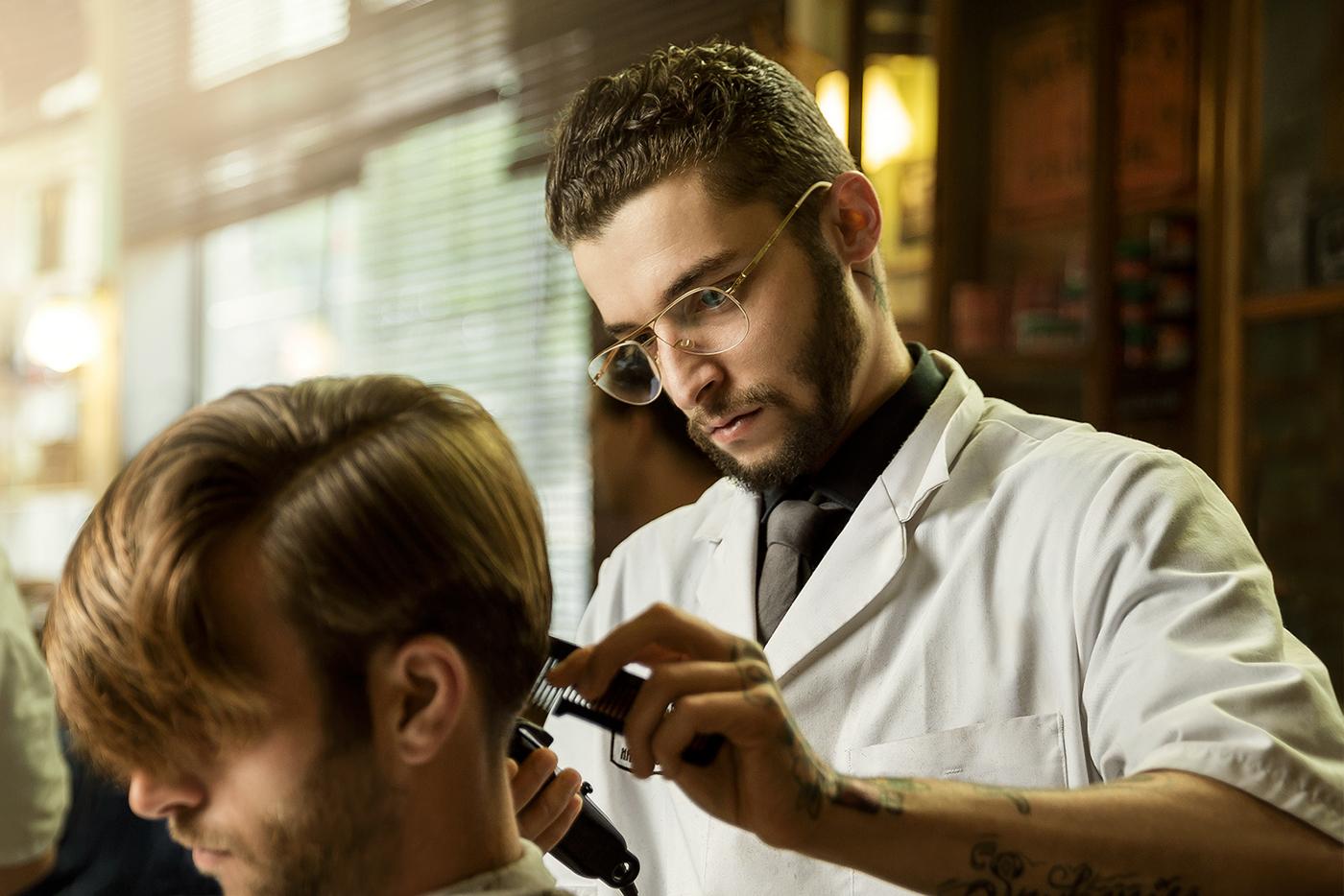 Schorem Haarsnijder Amp Barbier On Behance