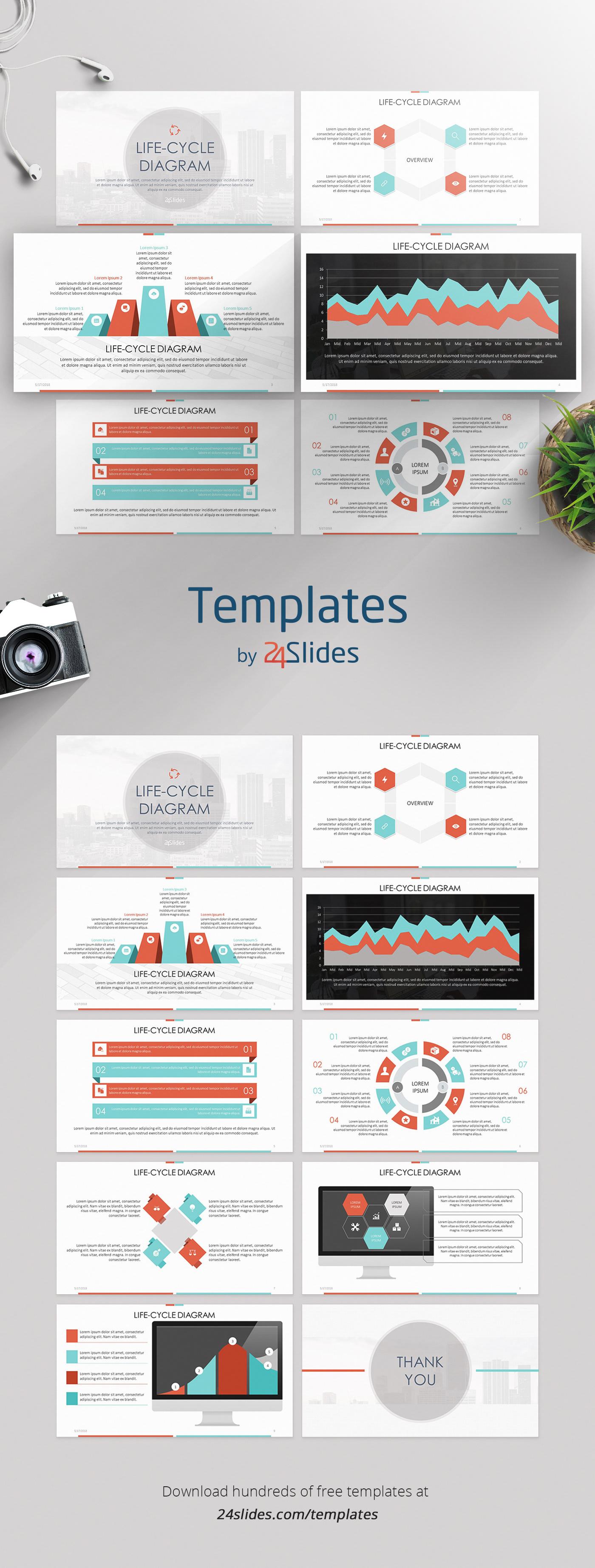 Business presentation presentation templates corporate branding Free Template