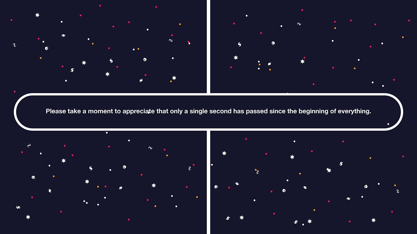 universe Space  stars big bang infographic illustrations science story