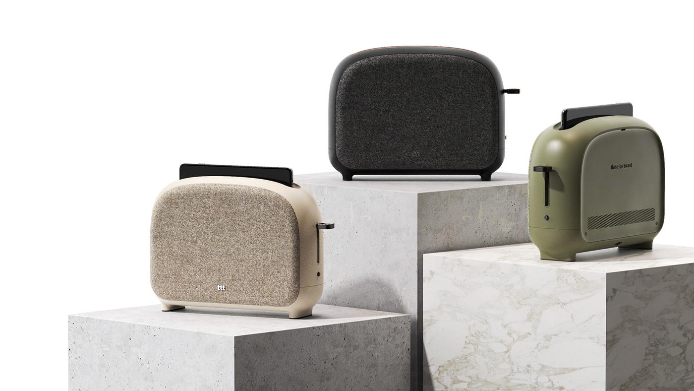 charger device fabric keyshot product product design  Rhino smartphone sterilizer toaster