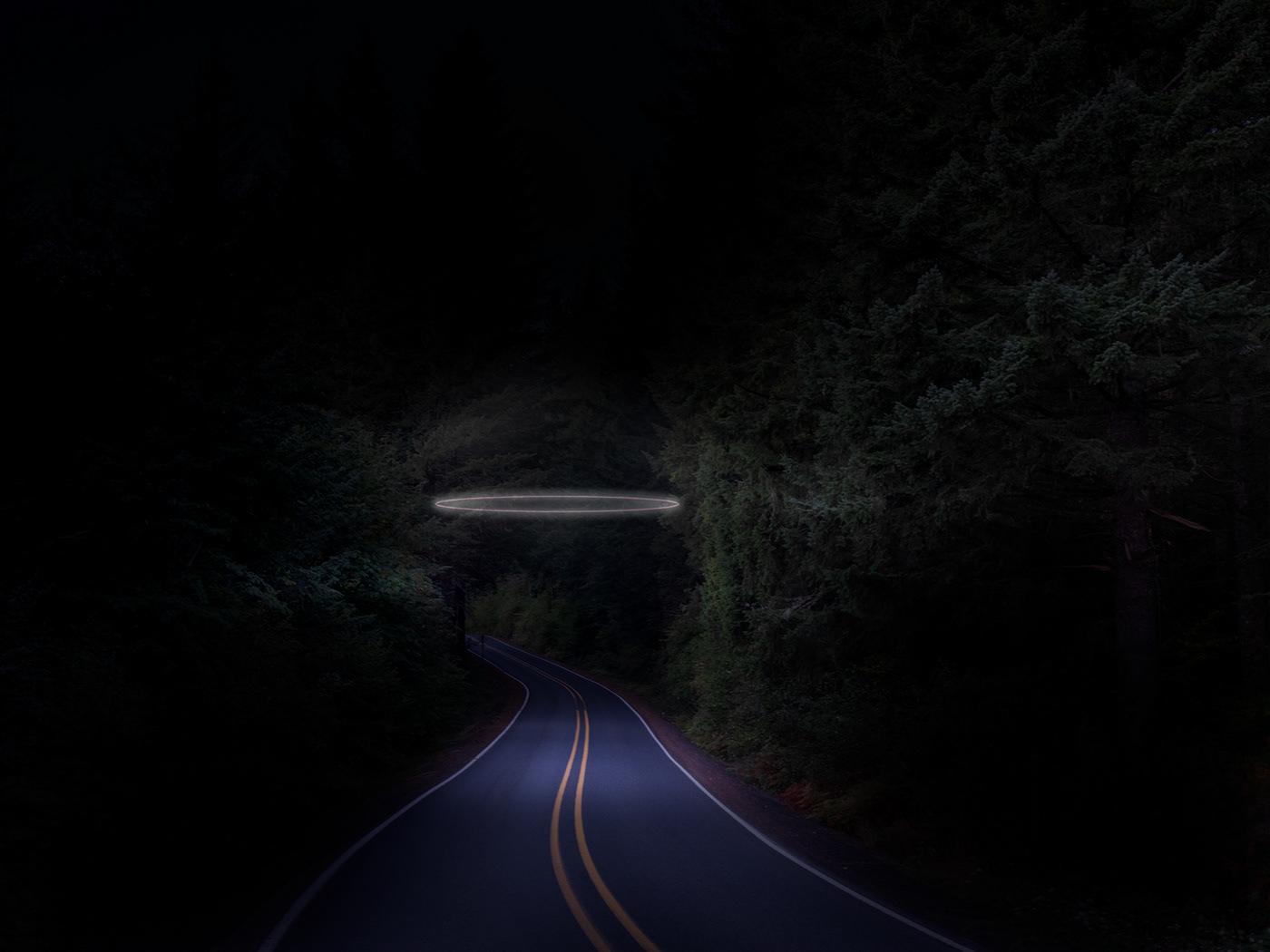 neon iceland Oregon night color