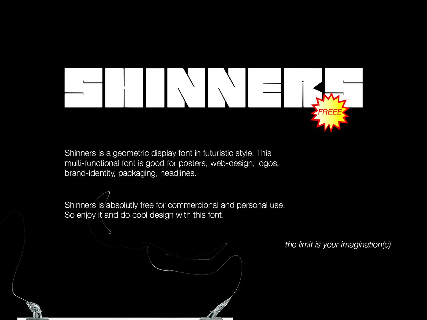 Шрифт – Shinners