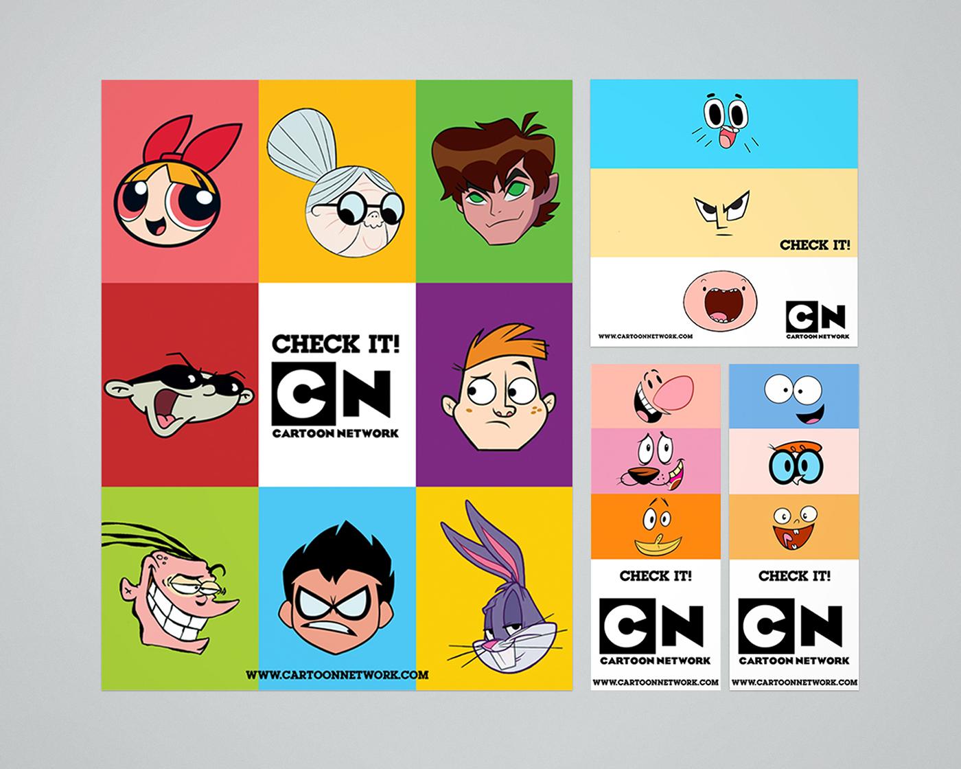 Cartoon Network Personal Rebranding on Behance