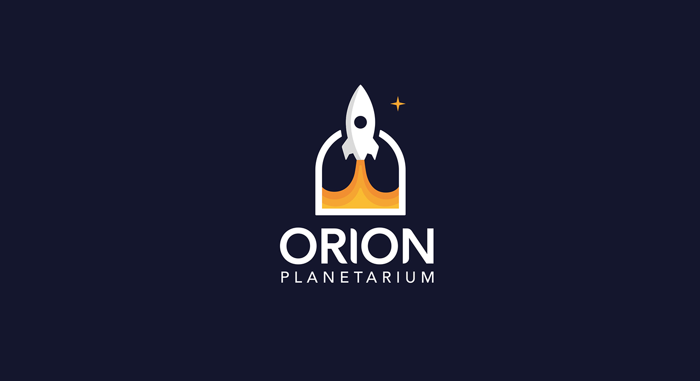 Orion Planetarium Visual Identity On Behance