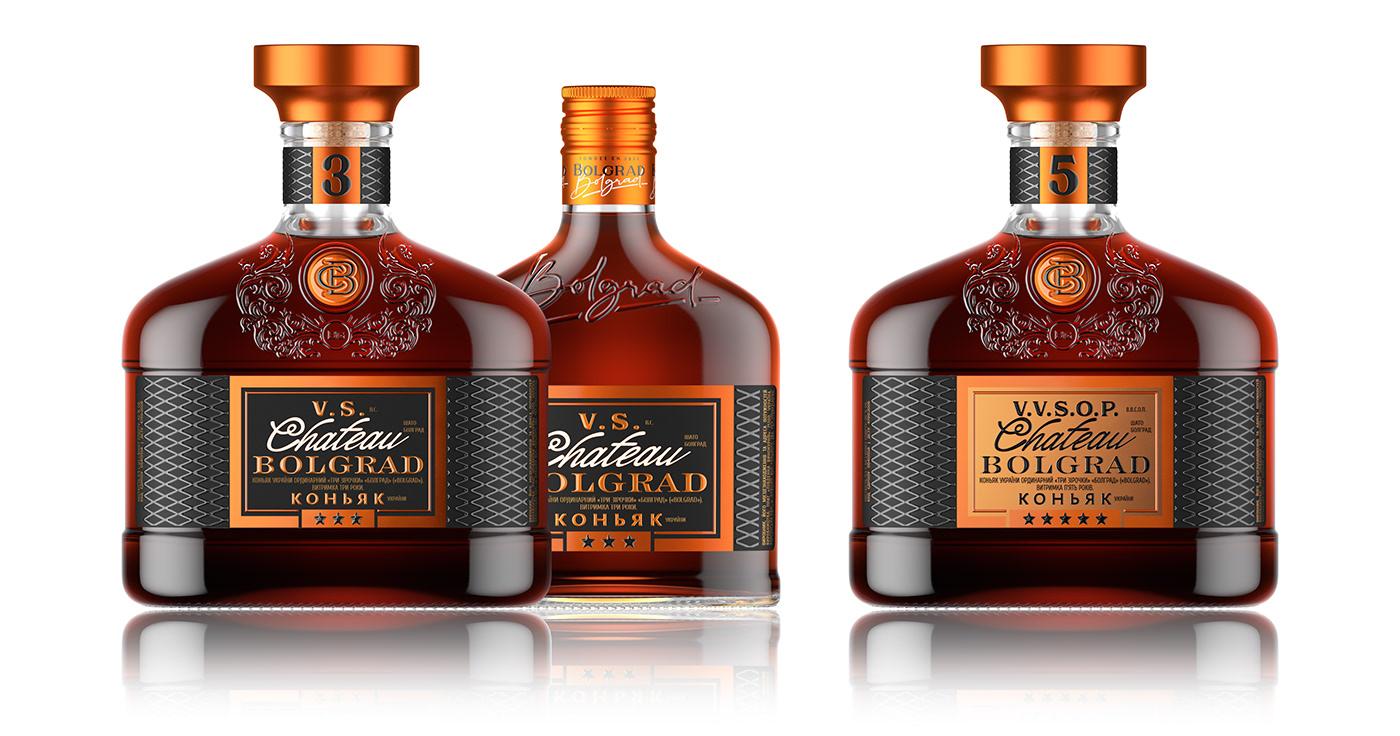 branding  Cognac Label label design labeling Packaging shumi love design shumilov shumilovedesign Sumilov