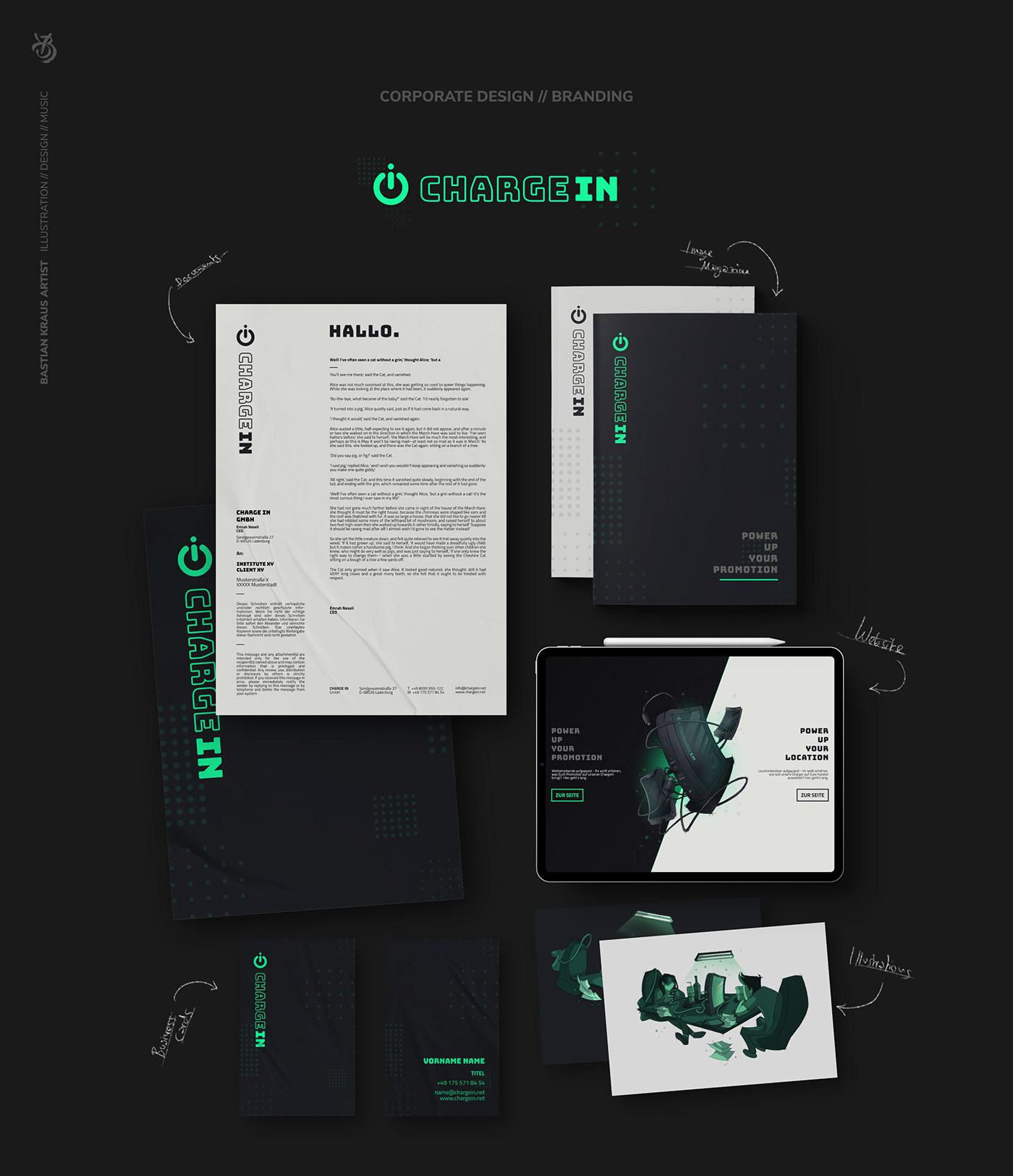CHARGE IN // Corporate Design