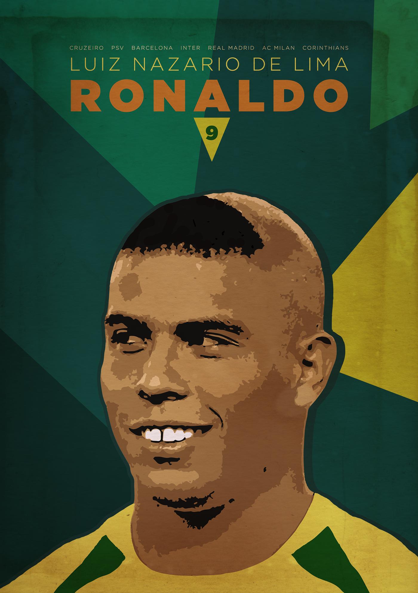 Brazilian Ronaldo 9 On Behance