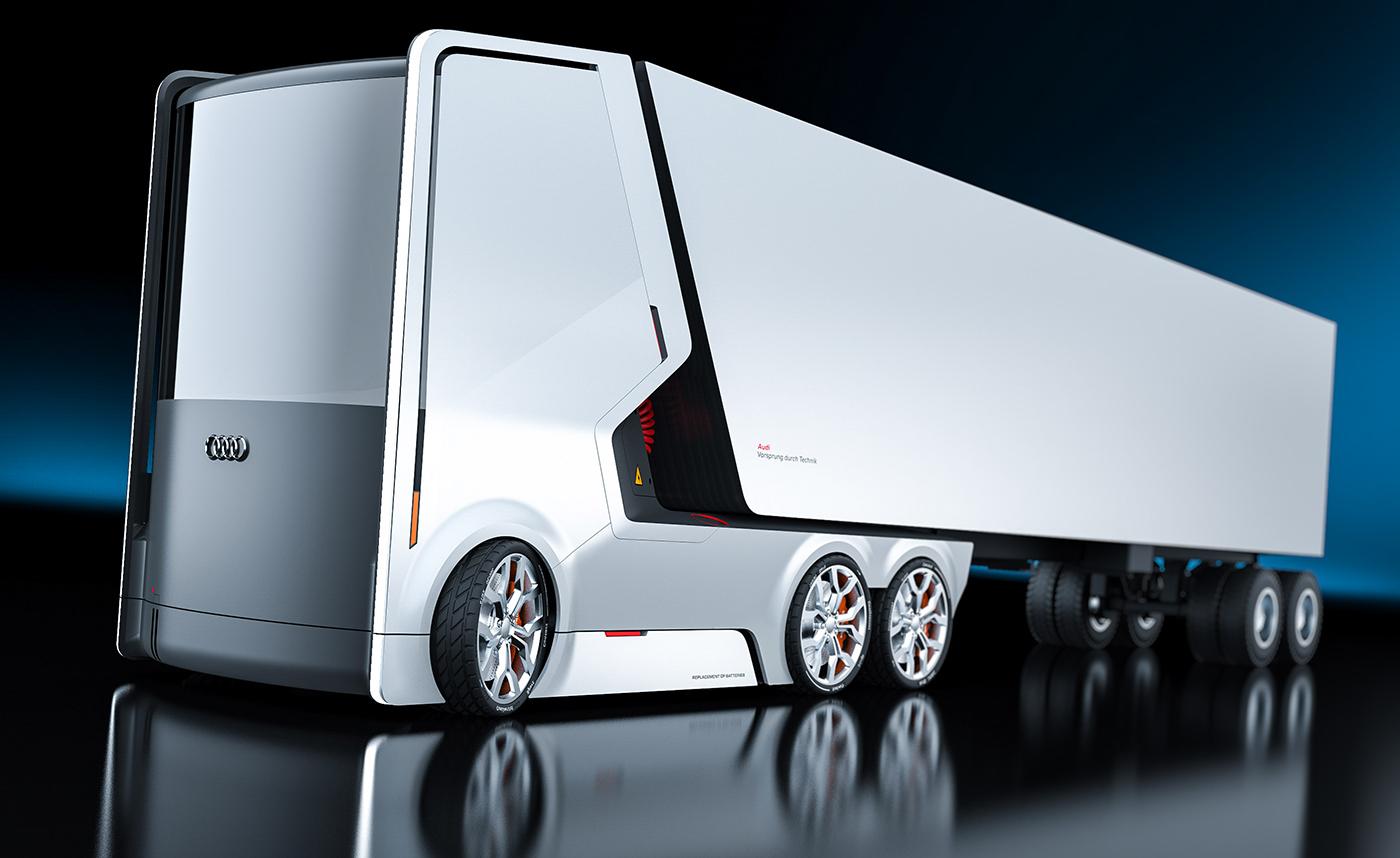 truck for audi on behance. Black Bedroom Furniture Sets. Home Design Ideas