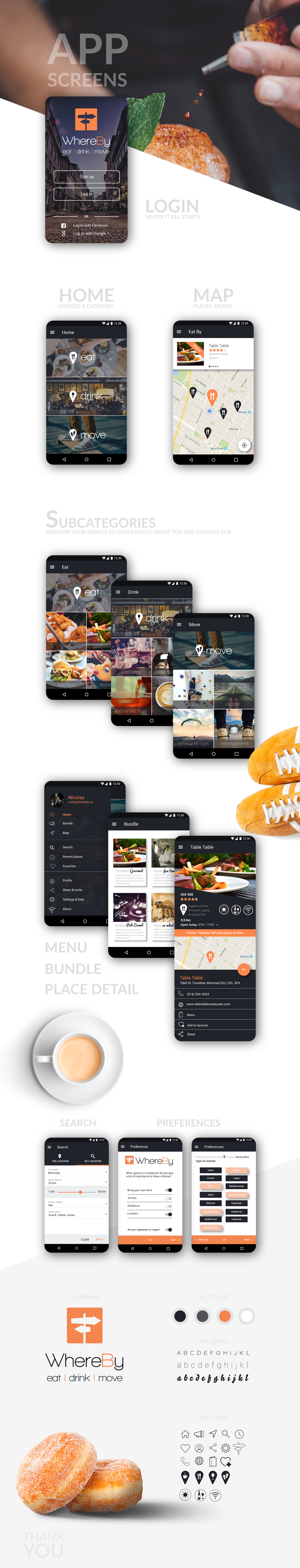 Mobile app android ux UI