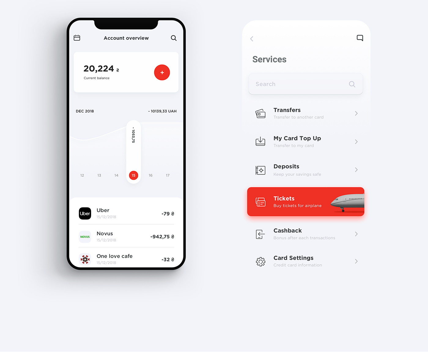 Redesigning the Alfa Bank mobile app