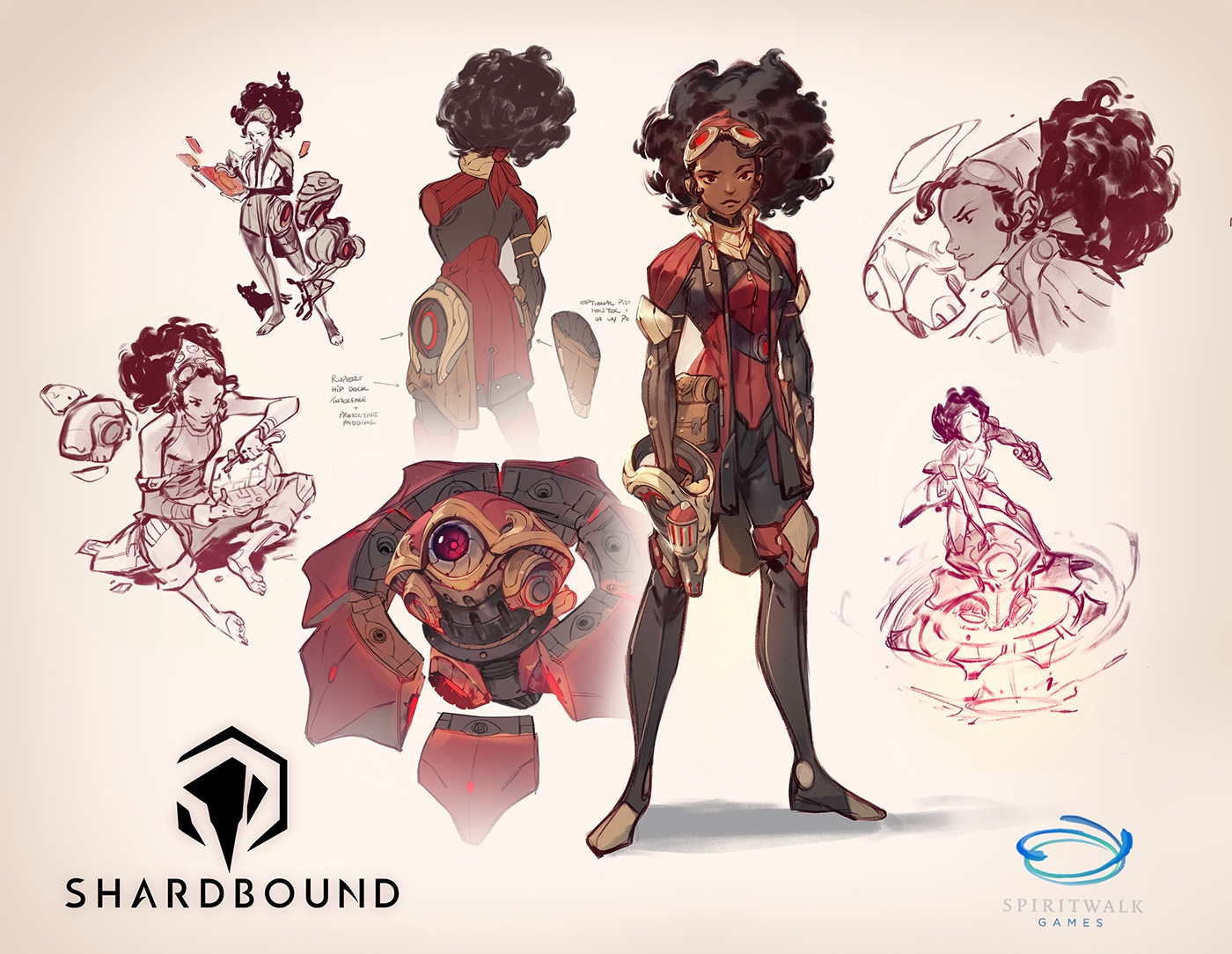 Character Design Exhibition : Shardbound pre alpha concepts on behance