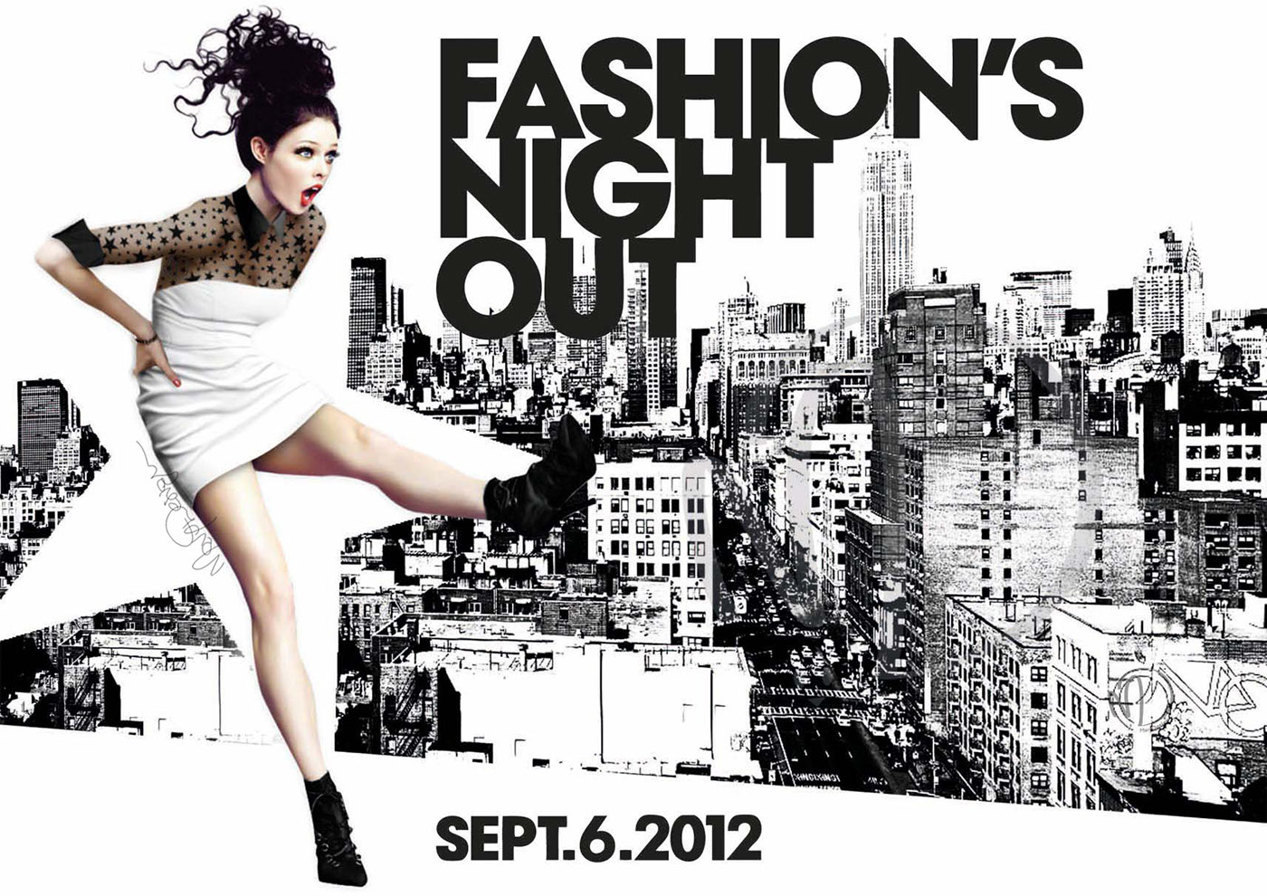 Advertising Campain Vogue Fashion Night Out 2012 On Behance