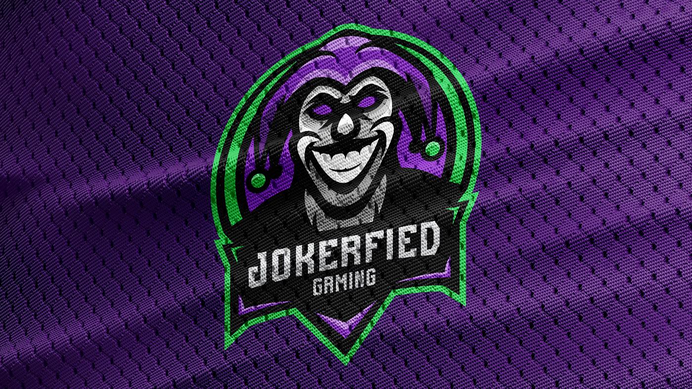 Jokerfied Gaming - Mascot Logo on Behance