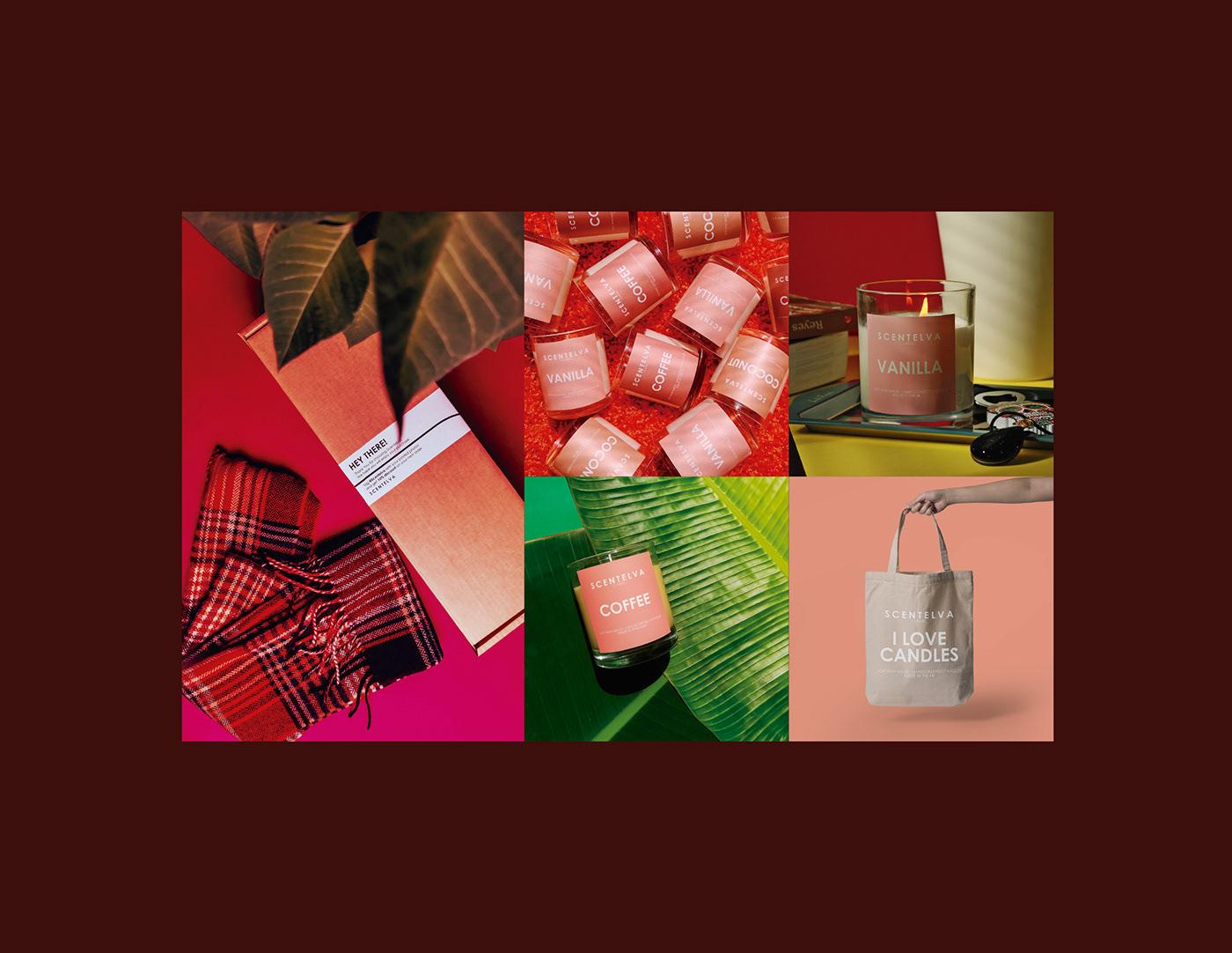 aromas candle Coconut Coffee england Packaging scents UK vanilla velas