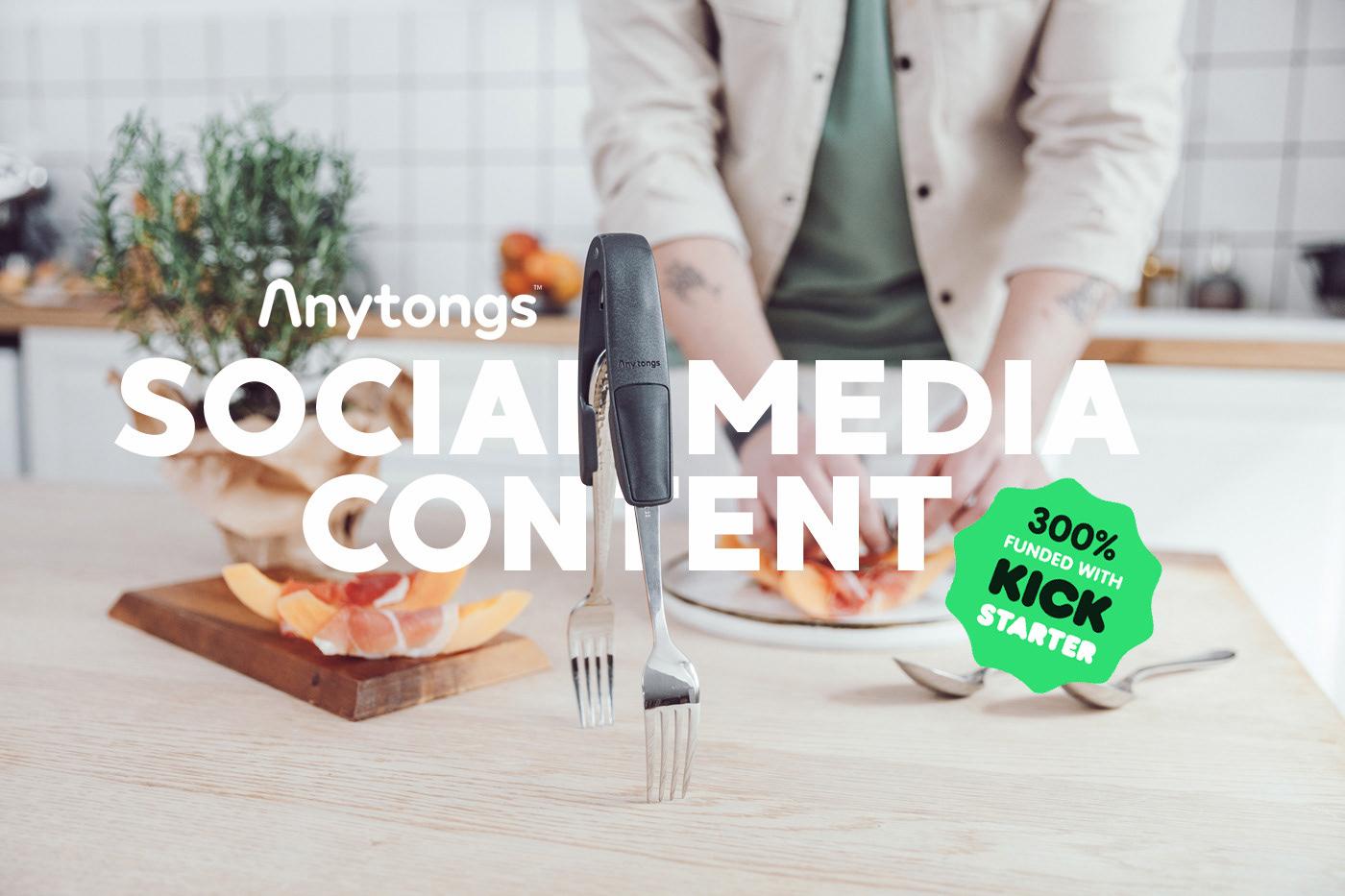 food photo food video instagram kitchen SMM social media Startup utencil