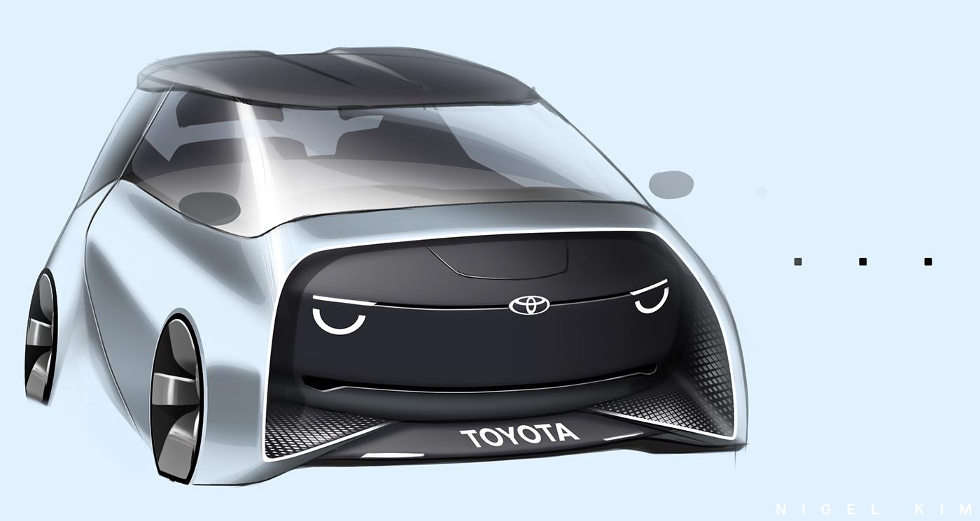 精美的20套概念車草圖設計欣賞