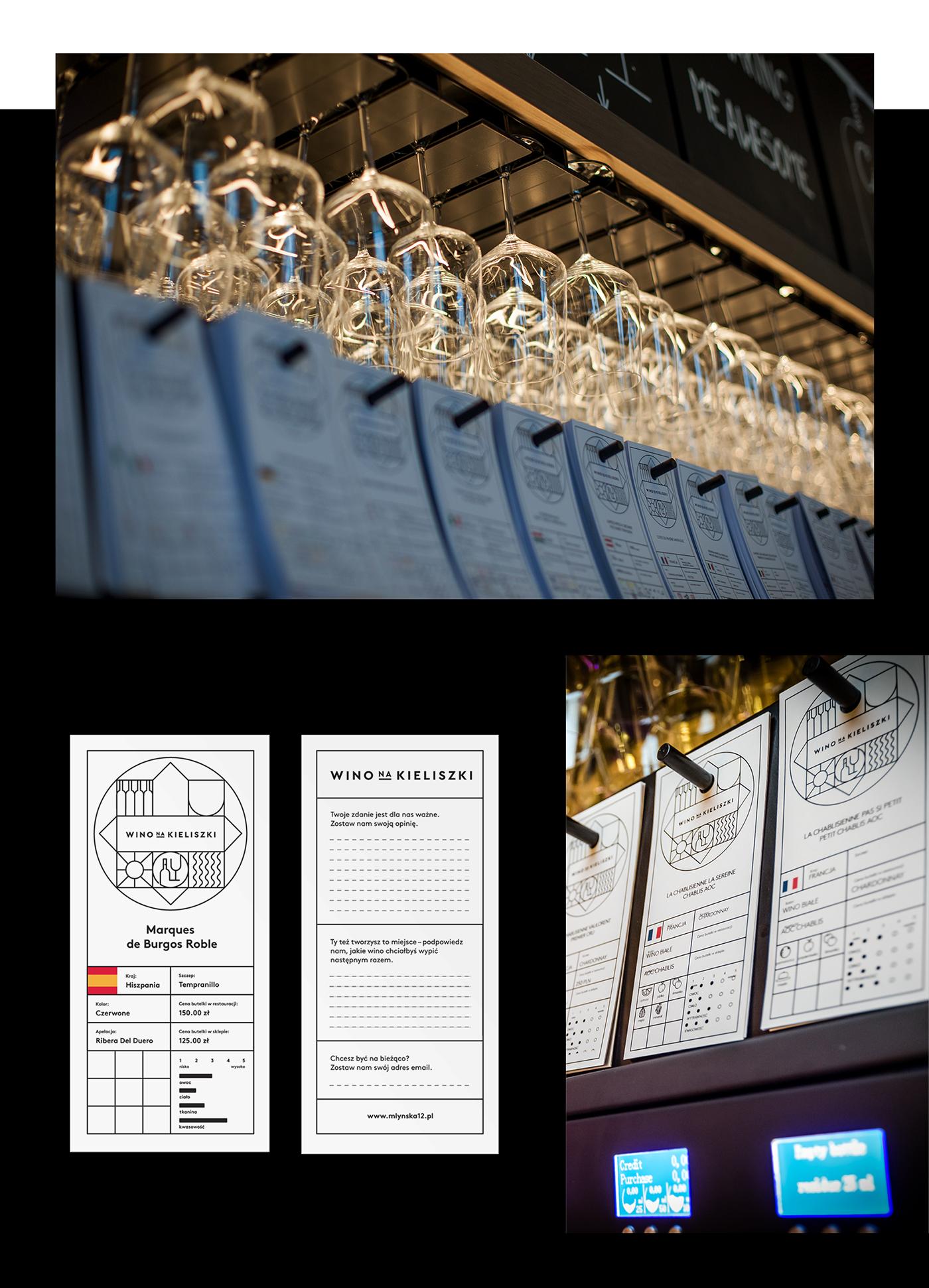 beand design wine tapbar poznan wine tap brand identity system
