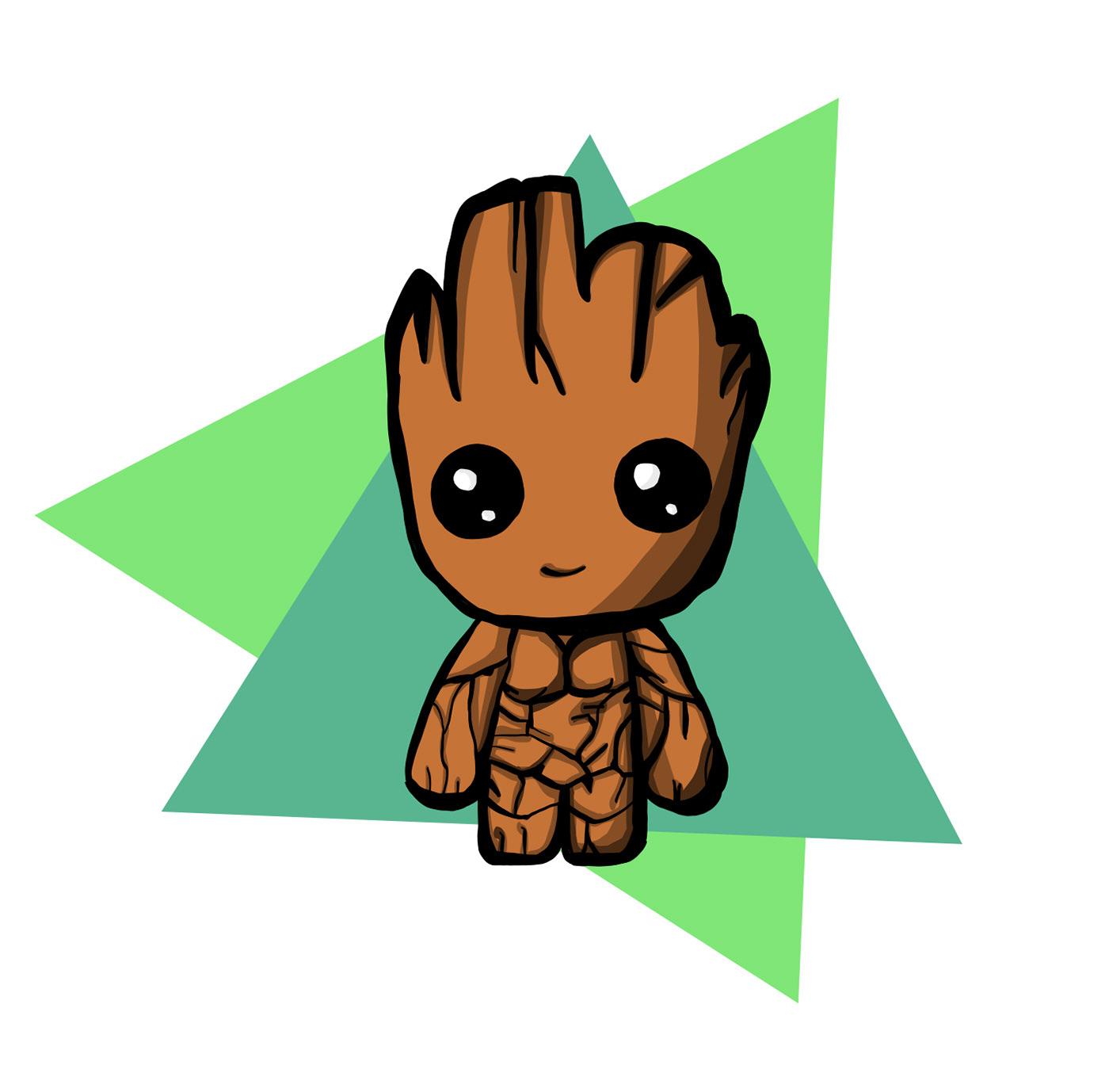 Baby Groot On Behance