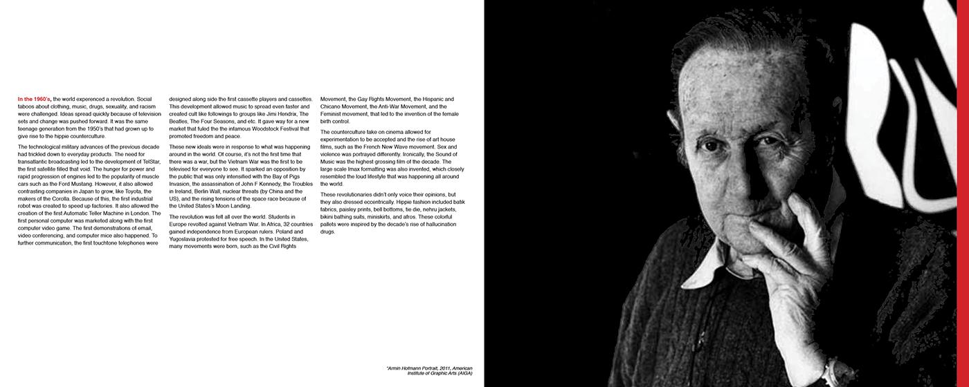 Armin hofmann accordian book on behance for Armin hofmann