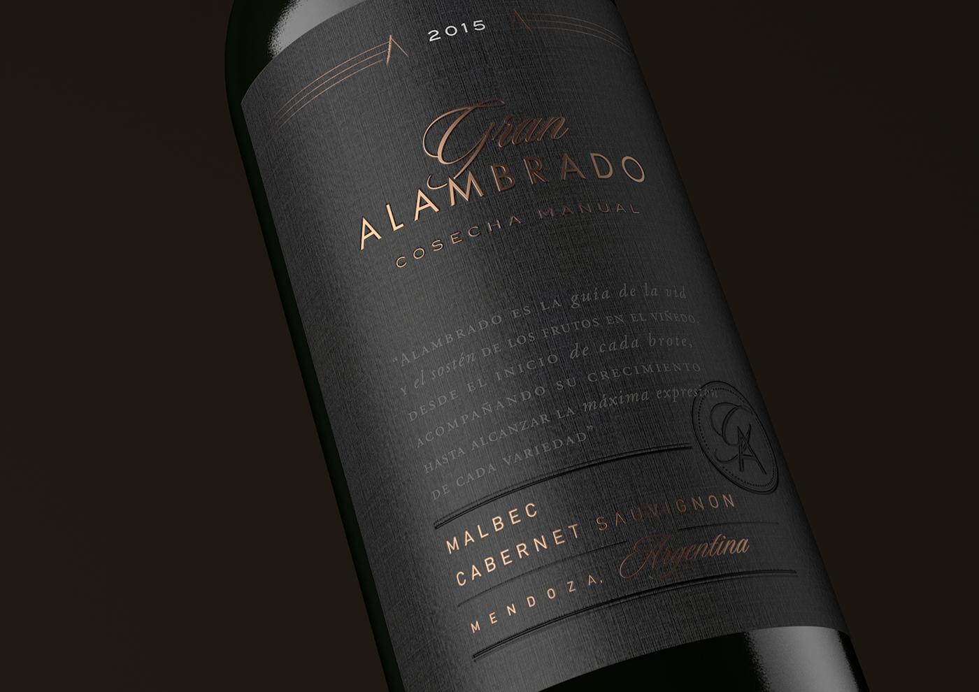 wine Label design Packaging