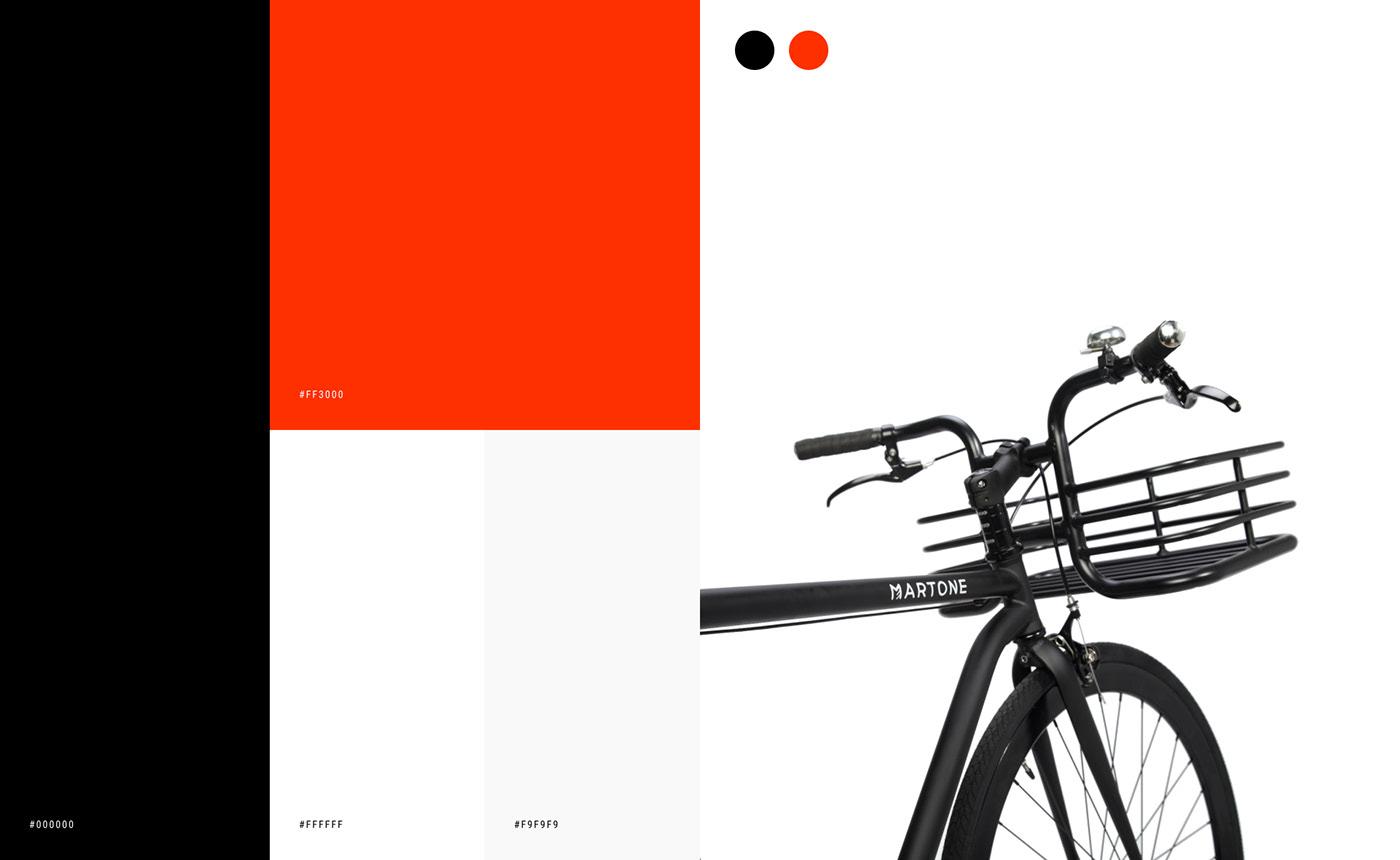 animation  Bike Ecommerce Fashion  mobile shop store UI ux Website