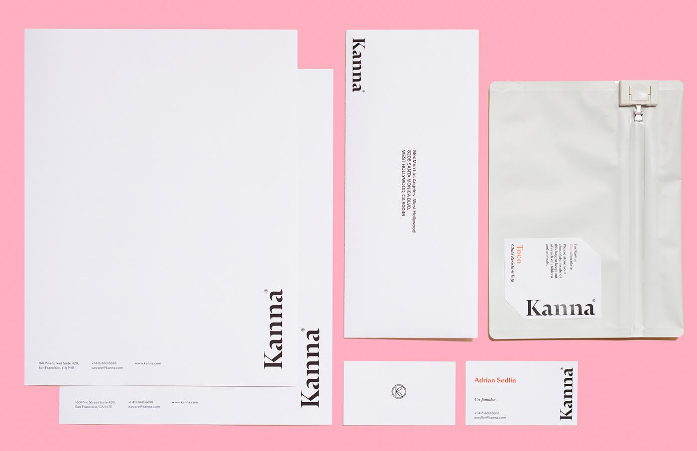 Kanna—a recreational cannabis brand on Behance